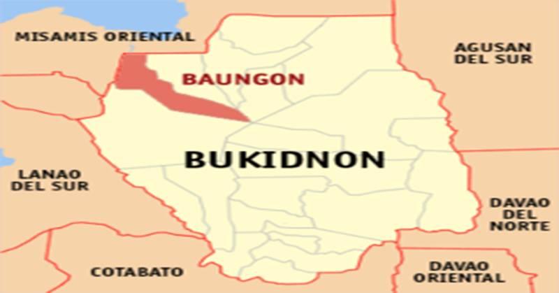 Baungon Bukidnon Map